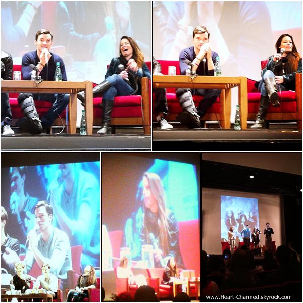 -     23/02/2013 - 24/02/2013 : Holly et ses co-stars de Pretty Little Liars, Ian Harding et Keegan Allen à la convention No More Secrets qui se déroulait à Nîmes en France.  -