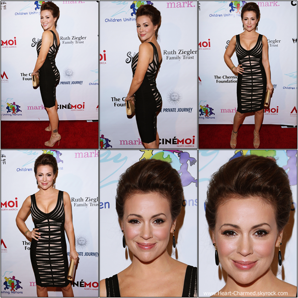 -     24/02/2013 : Alyssa au 14th Annual Children Uniting Nations Viewing Dinner qui se déroulait à Los Angeles.  -