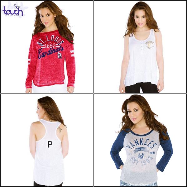 -     Touch 2013 : Découvrez un aperçu des nouveaux modèles 2013 de la collection Touch d'Alyssa.  -