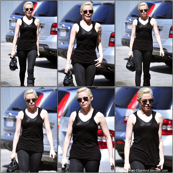 -    23/03/2013 : Rose se rendant à une salle de gym à Los Angeles.  -