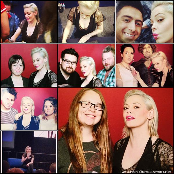 -    12-13/04/2013 : Rose rencontrant des fans dans le cadre de la Supanova Pop Culture Expo à Melbourne en Australie.  -
