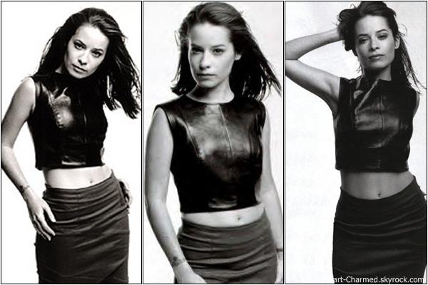 -    Photoshoot 1999 : Découvrez un photoshoot d'Holly Marie Combs réalisé par Norman Jean pour Dolly.  -