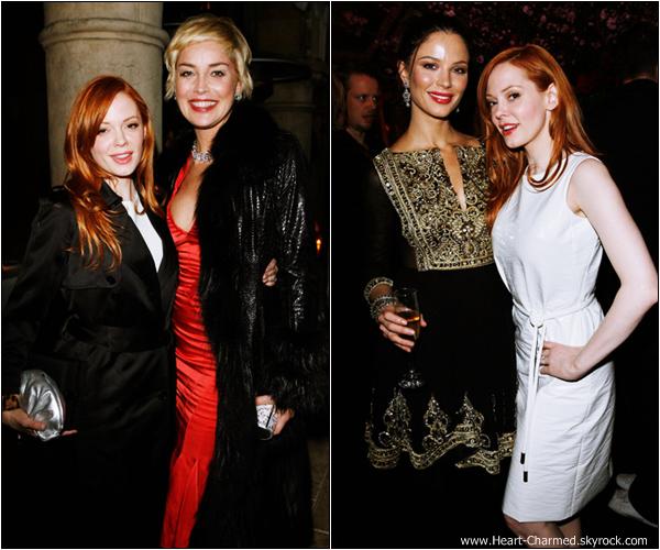 -    21/12/2008 : Rose assistant à un dîner organisé par la marque Dior dans West Hollywood.  -