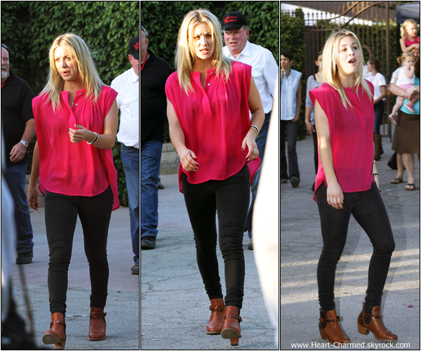 -    27/04/2013 : Kaley assistant au 23rd Annual William Shatner Priceline Hollywood Charity Horse Show à Los Angeles.  -