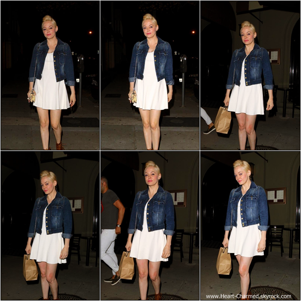 -    04/05/2013 : Rose quittant le restaurant Graig à Hollywood.  -