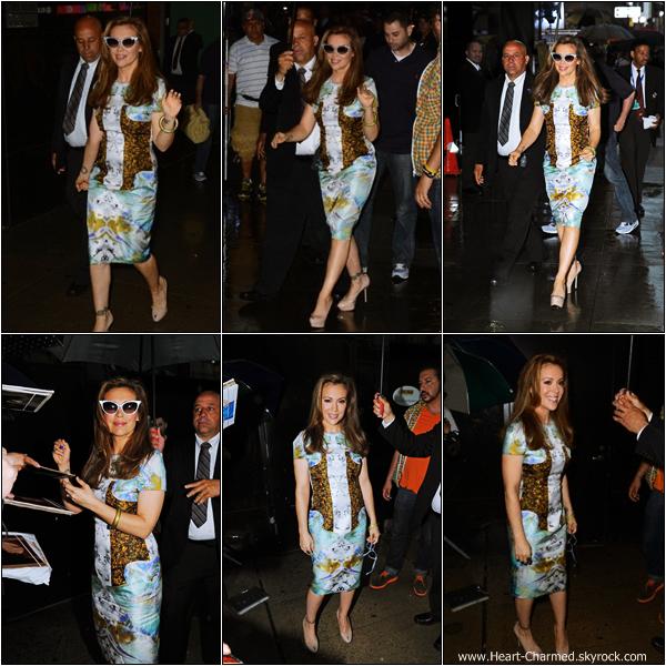 -    03/06/2013 : Alyssa arrivant aux studios de l'émission Good Morning America pour promouvoir Mistresses.  -