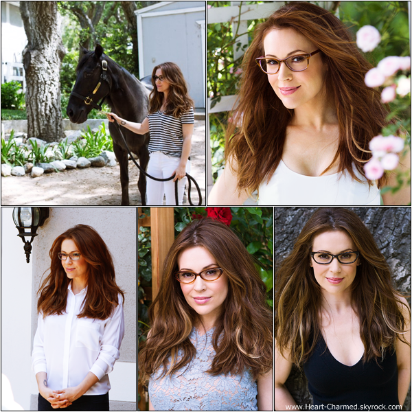 -    Touch 2013 : Découvrez ci-dessous un extrait d'un photoshoot d'Alyssa pour sa collection Touch mais qui s'étend cette fois-ci aux lunettes.  -