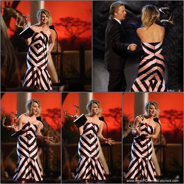 -    08/06/2013 : Kaley à la cérémonie des Guys Choice Awards à Culver City.  -