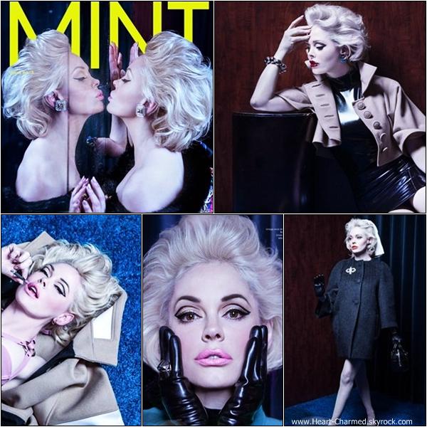 -    Photoshoot 2013 : Découvrez un aperçu d'un photoshoot de Rose pour le magazine de mode américain Mint.  -