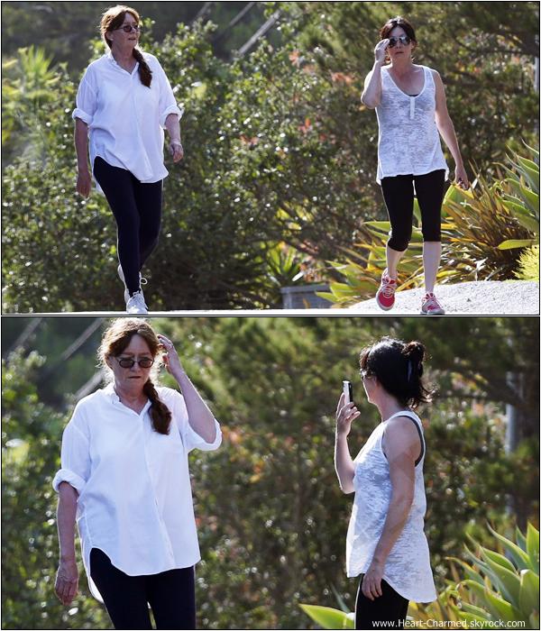 -    30/06/2013 : Shannen et sa maman Rosa se promenant dans Malibu.  -