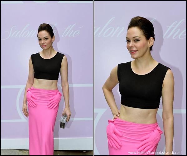 -    04/07/2013 : Rose assistant à l'inauguration de patisserie-boudoir de Zahia chez L'Eclaireur à Paris.  -