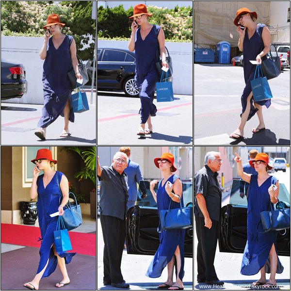 -    16/07/2013 : Kaley se rendant à son cours de gym dans West Hollywood.  -