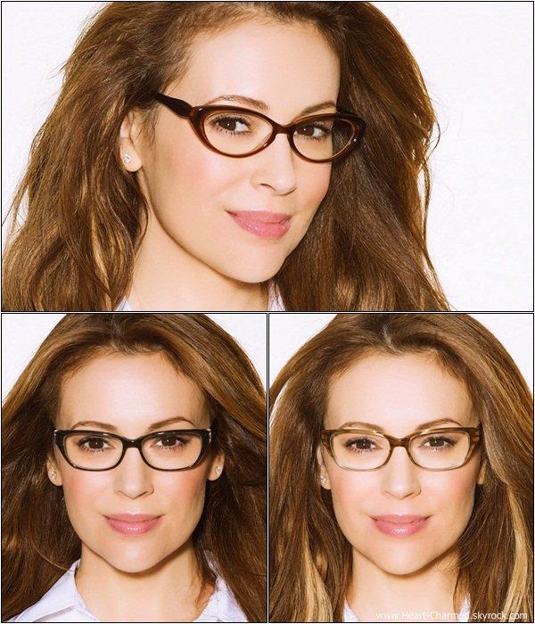 -    Touch 2013 : Découvrez ci-dessous des photos promotionnelles d'Alyssa pour sa collection de lunettes.  -