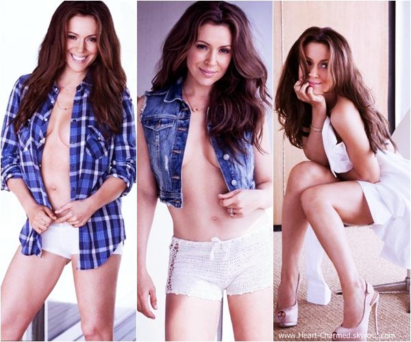 -    Photoshoot 2013 : Découvrez quelques photos du photoshoot pour Maxim d'Alyssa réalisé par James Macari.  -