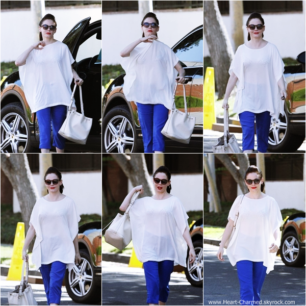 -    05/09/2013 : Rose se rendant à un rendez-vous dans West Hollywood.  -
