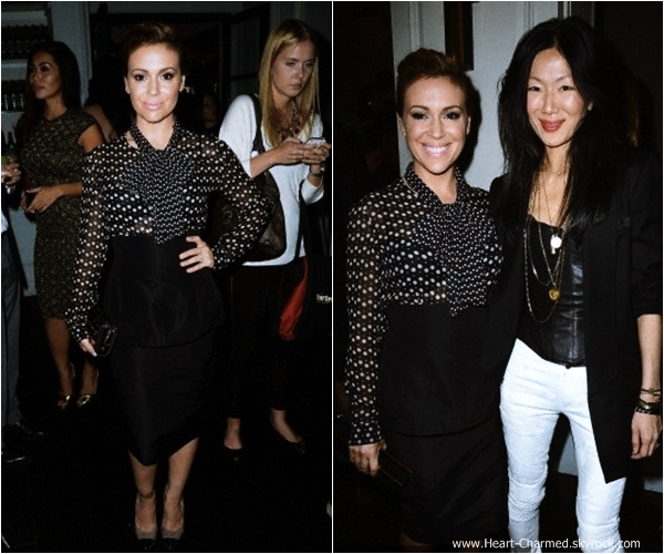-    06/09/2013 : Alyssa assistant aux Fashion Media Awards à New-York.  -