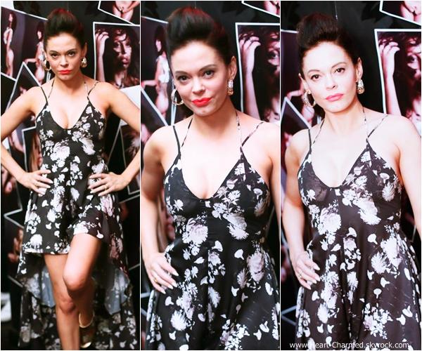 -    07/09/2013 : Rose assistant à la soirée organisée en l'honneur de Stephen Gan, le créateur de V Magazine à New-York.  -