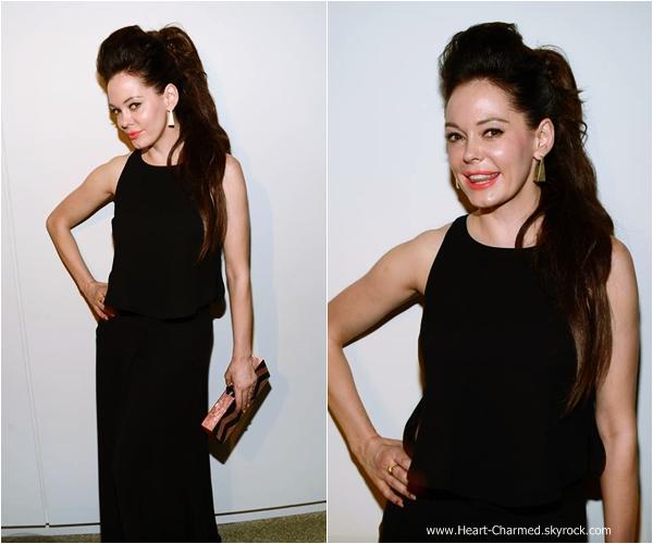 -    12/09/2013 : Rose assistant un dîner organisé par l'entreprise Estee Lauder à New-York.  -