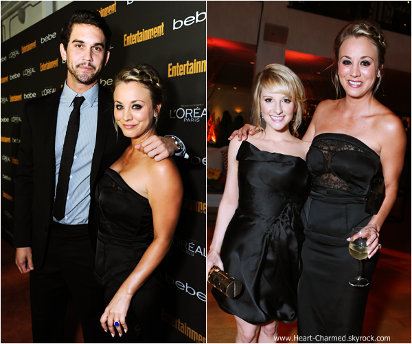 -    20/09/2013 : Kaley et son petit-ami Ryan Sweeting assistant au Entertainment Weekly Pre-Emmy Party at Fig & Olive dans West Hollywood.  -