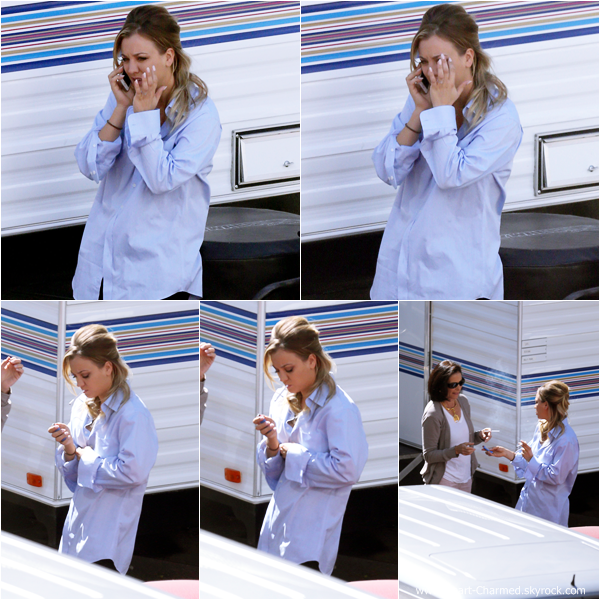 -    30/09/2013 : Kaley sur le tournage de son prochain film The Wedding Ringer à Los Angeles.  -