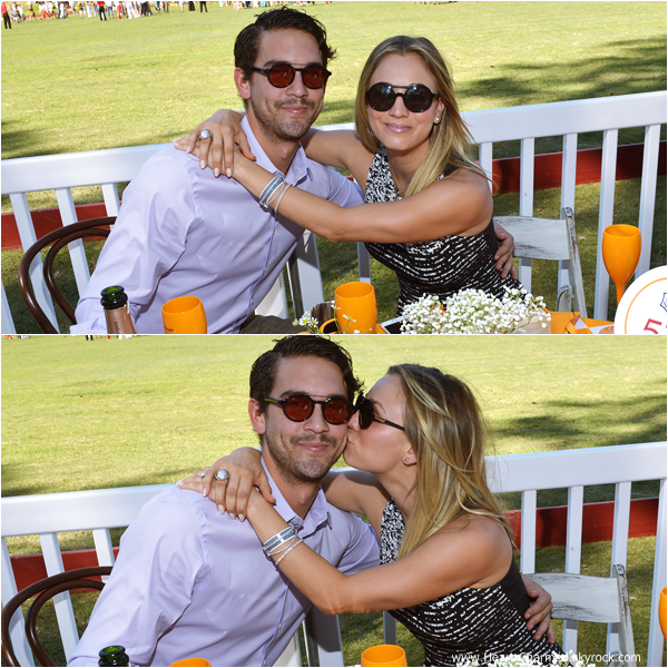 -    05/10/2013 : Kaley et son fiancé Ryan Sweeting assistant au 2013 Veuve Clicquot Polo Classic Los Angeles dans Pacific Palisades.  -