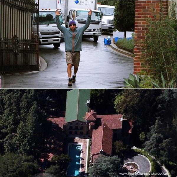 -    12/10/2013 : Rose arrivant au Paramour Mansion afin de célébrer son mariage à Los Angeles.  -