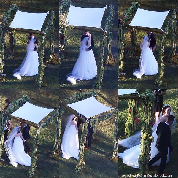 -    12/10/2013 : Rose et Davey Detail célébrant leur mariage au Paramour Mansion à Los Angeles.  -