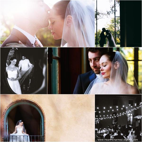 -    12/10/2013 : Découvrez les photos officielles du mariage de Rose et de Davey Detail qui s'est déroulé au Paramour Mansion à Los Angeles.  -