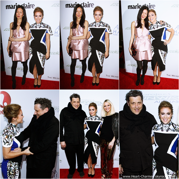 -    22/10/2013 : Alyssa assistant à la première de la saison 3 de sa nouvelle émission Project Runway : All Stars à New-York.  -