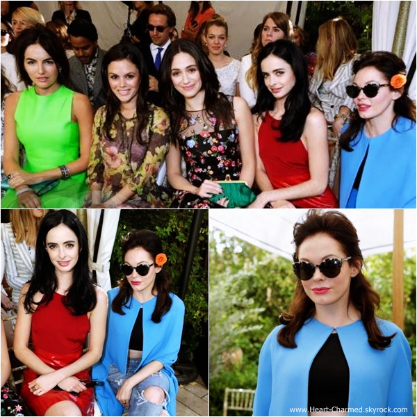 -    23/10/2013 : Rose assistant au 2013 CFDA/Vogue Fashion Fund Event qui se déroulait au Château Marmont à Los Angeles.  -
