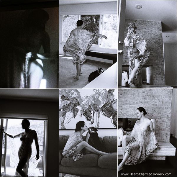 -    Photoshoot 2013 : Découvrez un nouveau photoshoot de Rose réalisé dans sa villa par Marlene Marino.  -