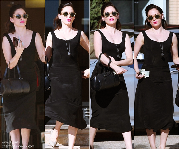 -    02/11/2013 : Rose quittant le magasin Barneys New-York à Los Angeles.  -