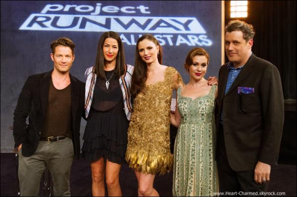 -    Project Runway All Stars : Découvrez une photo promotionnelle et quelques stills de l'épisode 3 de Project Runway All Stars la nouvelle émission avec Alyssa.  -