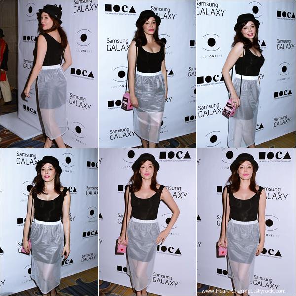 -    06/11/2013 : Rose assistant au 8th Annual MOCA Awards à Beverly Hills.  -