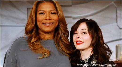 -    12/11/2013 : Rose sur le plateau de l'émission The Queen Latifah Show à Los Angeles.  -