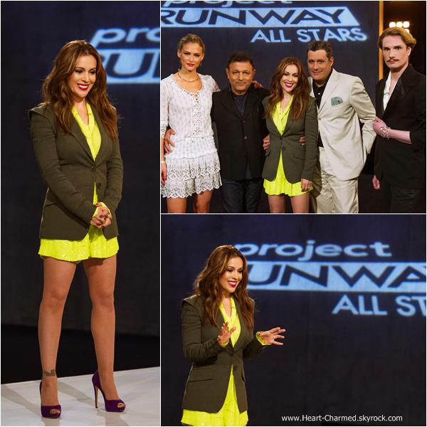 -    Project Runway All Stars : Découvrez quelques photos promotionnelles et quelques stills de l'épisode 5 de Project Runway All Stars la nouvelle émission avec Alyssa.  -