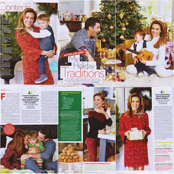 -    People Magazine : Découvrez Alyssa dans le magazine People pour l'édition de Novembre 2013.  -