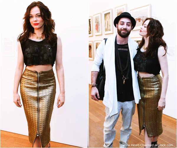 -    04/12/2013 : Rose et son mari Davey Detail assistant à une soirée organisée par W Magazine  à Miami.  -