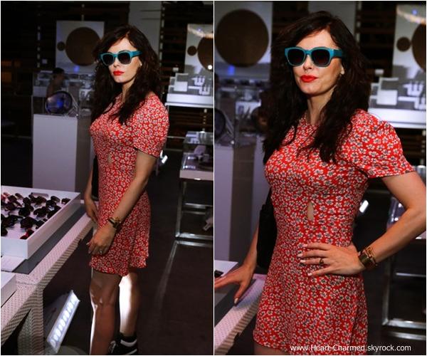 -    06/12/2013 : Rose assistant à une soirée en l'honneur du designer Mark Cunningham à Miami.  -
