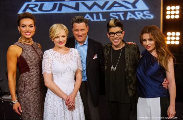 -   Project Runway All Stars : Découvrez une photo promotionnelle de l'épisode 7 ainsi que quelques stills de l'épisode 8 de Project Runway All Stars la nouvelle émission avec Alyssa.  -
