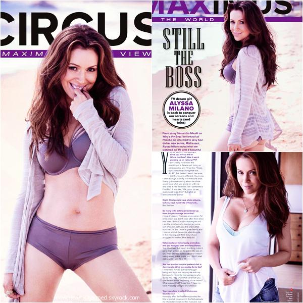-    Maxim Magazine : Découvrez Alyssa dans le magazine australien Maxim pour l'édition de Décembre 2013.  -
