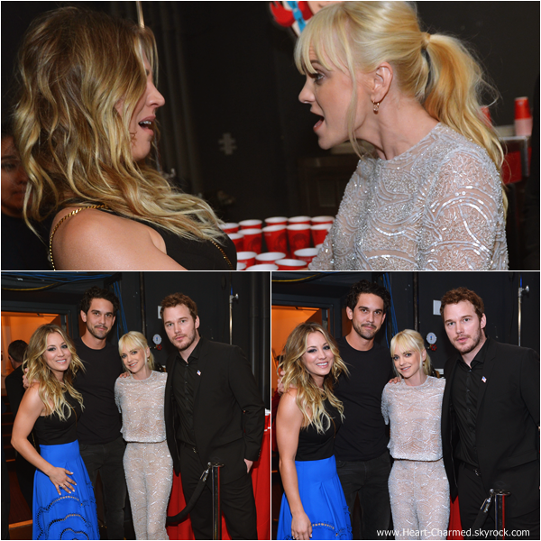 -    08/01/2014 : Kaley assistant à la cérémonie des 2014 People's Choice Awards qui se déroulait à Los Angeles (Partie 2).  -