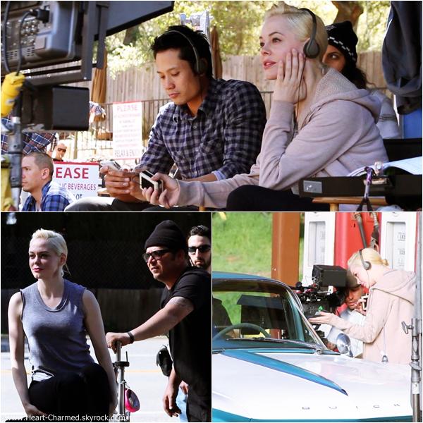 -    ??/??/2013 : Découvrez quelques photos de Rose sur le tournage de son court métrage Dawn datant de 2013.  -