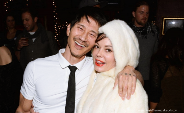 -    20/01/2014 : Rose assistant à l'after-party de White Bird In A Blizzard à Park City.  -