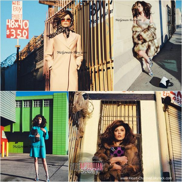 -    FLAUNT Magazine : Découvrez un photoshoot de Rose pour le magazine FLAUNT.  -