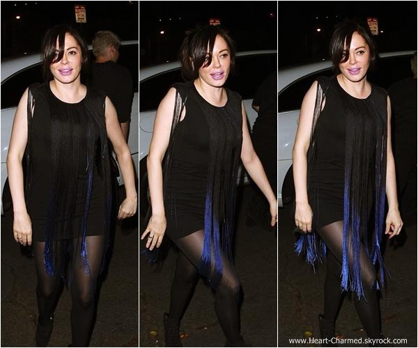 -    22/02/2014 : Rose arrivant au Château Marmont à Los Angeles.  -
