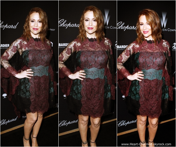 -    01/03/2014 : Alyssa assistant à la soirée Weinstein Oscar Party à Los Angeles.  -