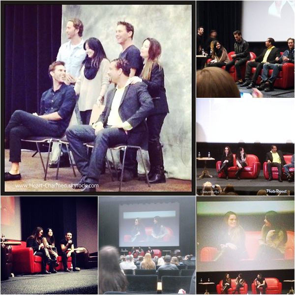 -    15/03/2014 : Shannen, Holly, Brian Krause, Drew Fuller, Dorian Gregory et Wes Ramsey assistant à la convention Charmed à Paris.  -