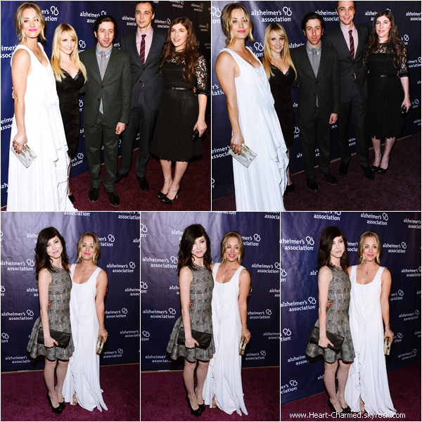 "-    26/03/2014 : Kaley accompagnée de son mari Ryan Sweeting et de sa soeur Brianna au 2nd Annual ""A Night At Sardi's"" To Benefit The Alzheimer's Association à Los Angeles.  -"