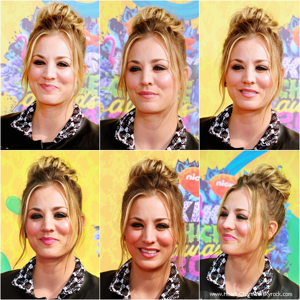 -    29/03/2014 : Kaley assistant aux Nickelodeon's 27th Annual Kids' Choice Awards à Los Angeles.  -
